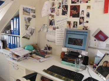 Sandra Danby - where I write